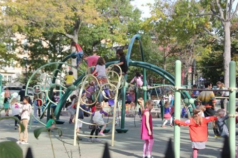 Top NYC Playgrounds for a New York nanny