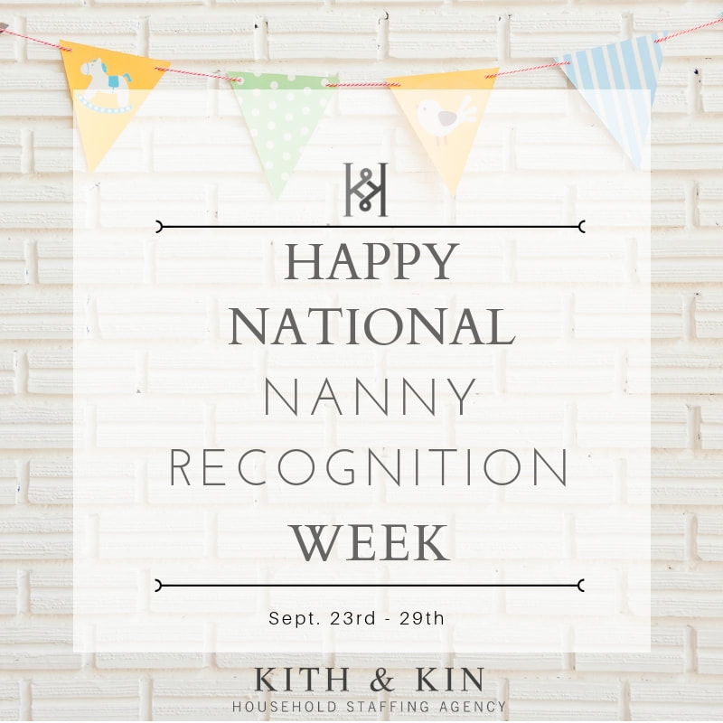 Ideas for National Nanny Recognition Week