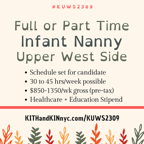 nanny jobs new york