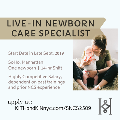 newborn care specialist job